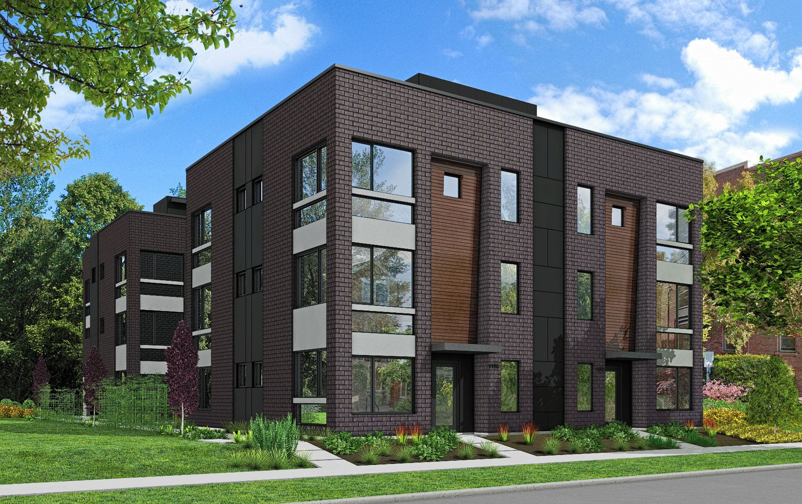 New presale in capitol hill isola homes for Townhome layouts