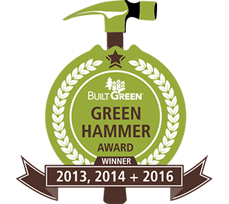 Built Green Green Hammer Award Logo