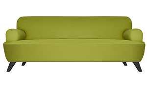 Environmentally Friendly Round D Couch by EcoBalanza