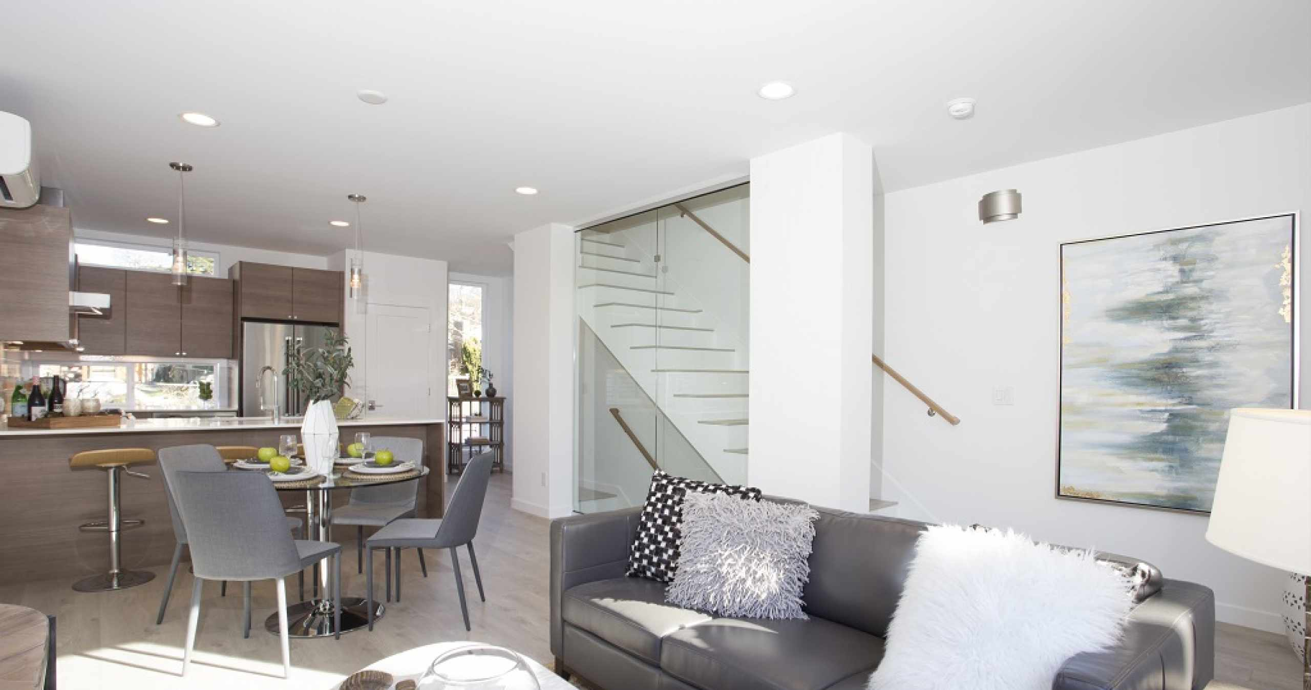 Living Roof of Alto Townhomes Unit by Isola Homes