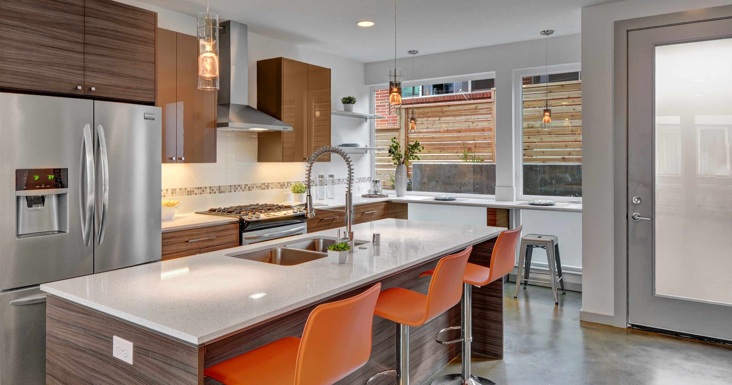 Modern Communities By Isola Homes Showcased In One Convenient Location.  Full Sized Model Kitchens And Bath, Onsite Design Studio.