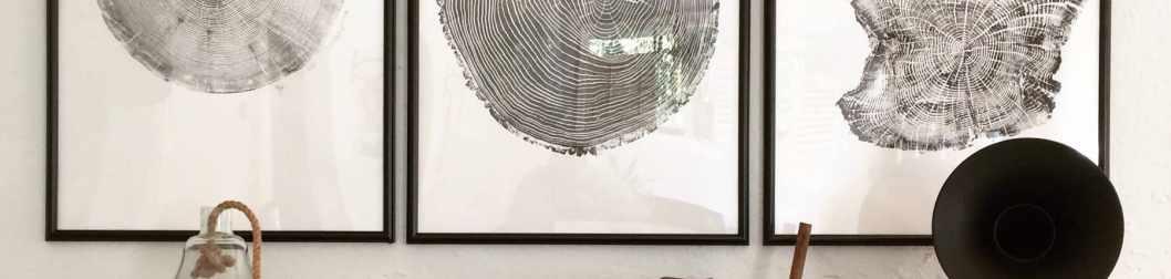 Eco-Friendly Tree Print Artwork by Upper Earth