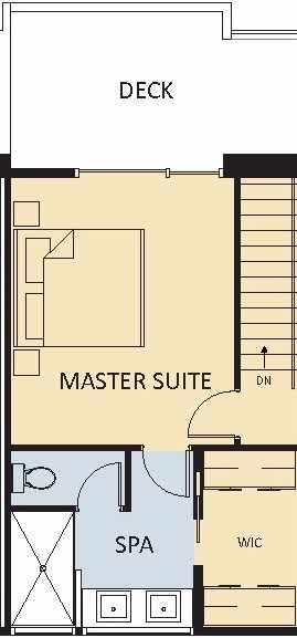 Master Suite + Deck