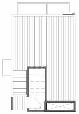 Roof Deck Floor Plan of 109C 22nd Ave E at the Thalia Townhomes