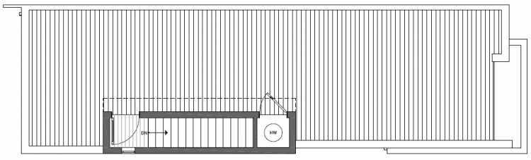 Roof Deck Floor Plan of 2125 Dexter Avenue N