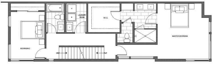 Third Floor Plan of 2125 Dexter Avenue N