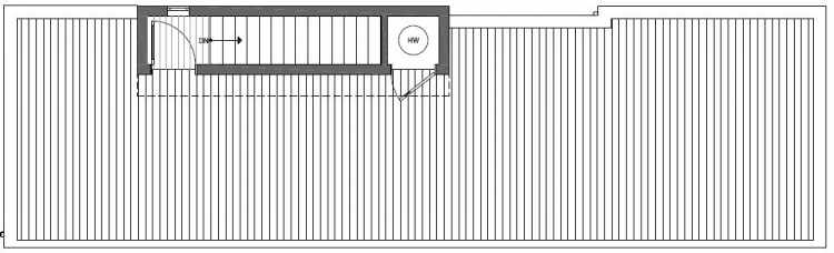 Roof Deck Floor Plan of 2127 Dexter Avenue N