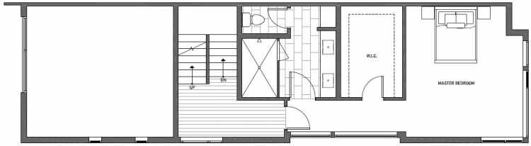 Second Floor Plan of 2133 Dexter Avenue N