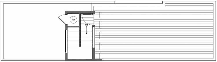 Roof Deck Floor Plan of 2135 Dexter Avenue N