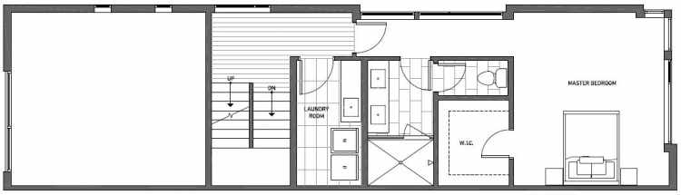 Second Floor Plan of 2135 Dexter Avenue N