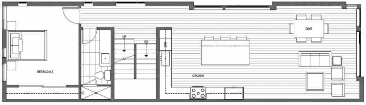 Third Floor Plan of 2135 Dexter Avenue N