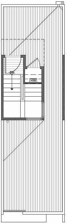 Roof Deck Floor Plan of 2414B NW 64th St in Ballard