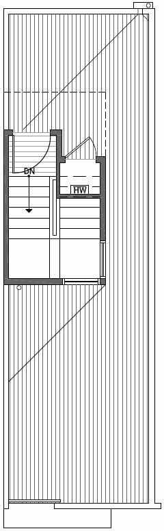 Roof Deck Floor Plan of 2444A NW 64th St in Ballard