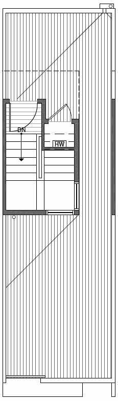 Roof Deck Floor Plan of 2444B NW 64th St in Ballard