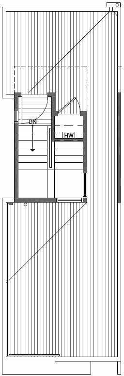 Roof Deck Floor Plan of 2444C NW 64th St in Ballard