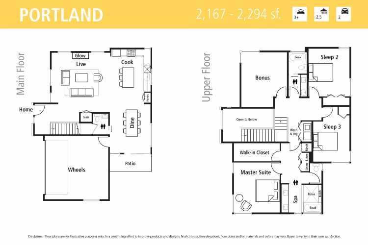 Portland Floor Plan