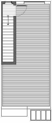 Roof Deck Floor Plan of Talta's Lisbet Floor Plan