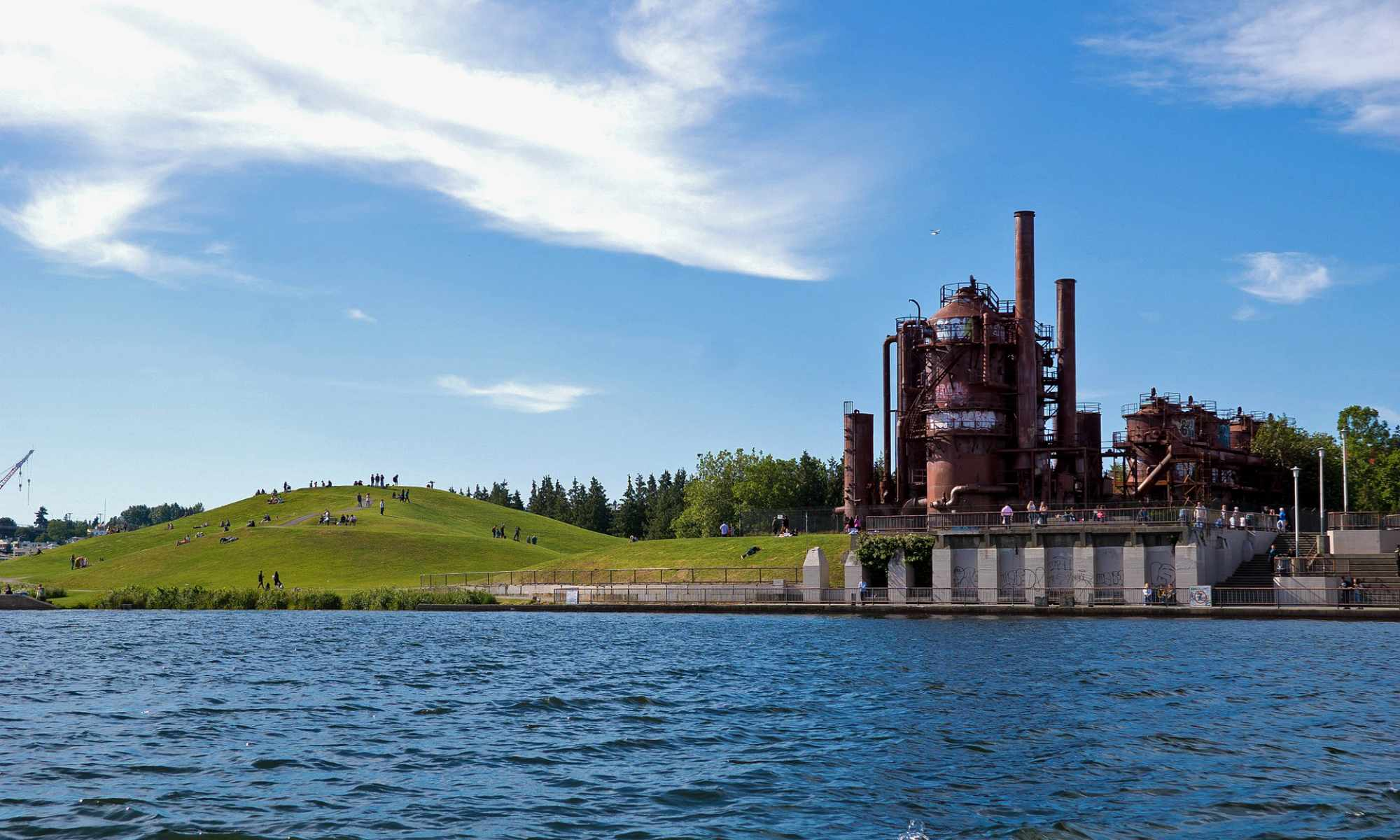 Gas Works Park in the Wallingford Neighborhood of Seattle