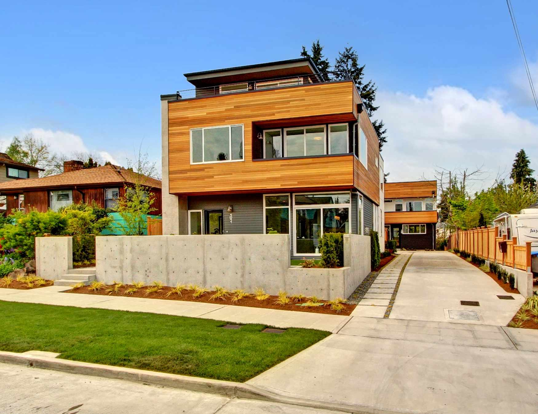 Best 40 seattle modern homes design ideas of seattle for New home builders in seattle area