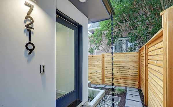 Front Door of 7219 5th Ave NE