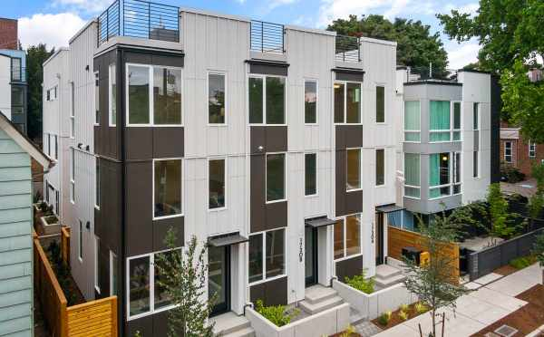 The Altair Townhomes on 11th Ave in Capitol Hill by Isola Homes