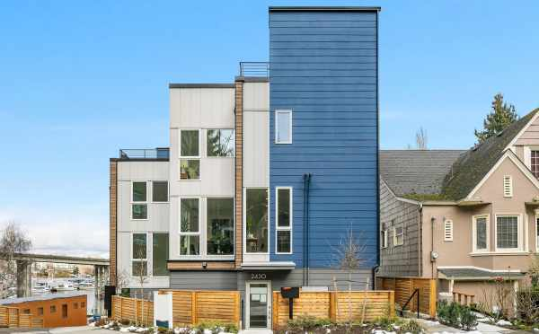 Exterior View of 2430 Boyer Ave in the Baymont Townhomes