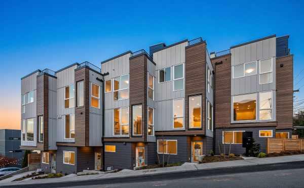 The Baymont Townhomes in the Montlake Neighborhood of Seattle