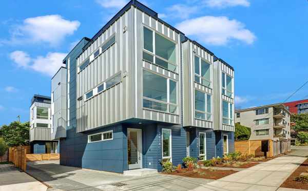 Exterior of the Lifa East Townhomes in Ballard