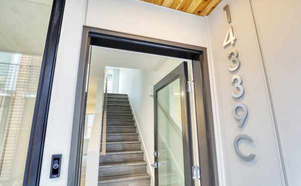Front Door of 14339C Stone Ave N at the Maya Townhomes