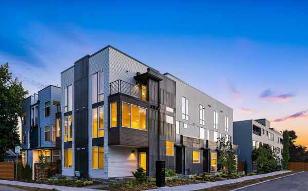 The Mika Townhomes at the Corner of Malden Ave E and E Harrison St