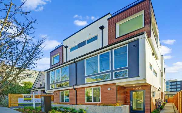 Verde Towns 1 in Green Lake by Isola Homes