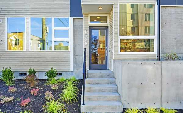 Front Door of 503B NE 72nd Street of the Emory Townhomes