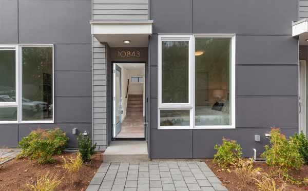 Front Door of 10843 11th Ave NE in the Lily Townhomes