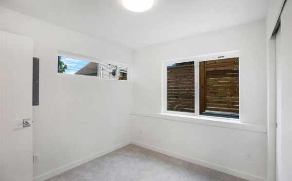 First Floor Bedroom at 5111B Ravenna Ave NE