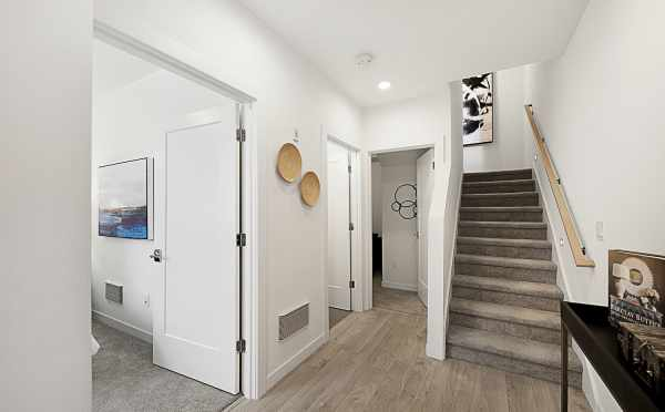 Entryway of 7528A 15th Ave NW, Townhome in Talta Ballard