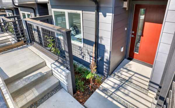 Front Door of 8505 16th Ave NW, One of the Alina Townhomes