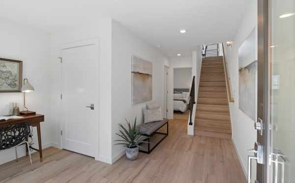 Entryway and Stairs at 212B 18th Ave