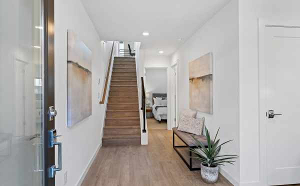 Entryway at 212E 18th Ave