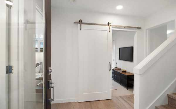 Entryway at 807 N 47th St of Sunstone at Fremont by Isola Homes