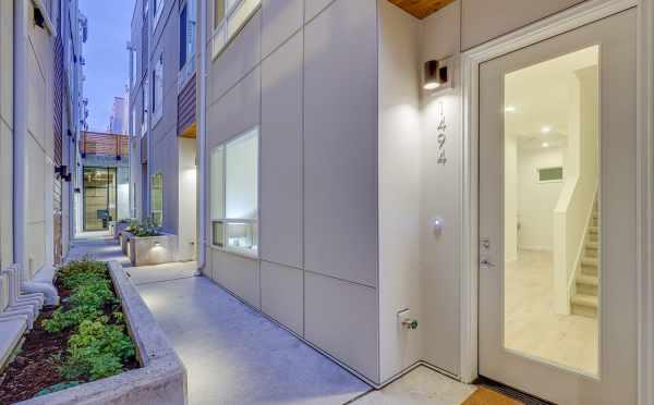Front Door and Walkway to 1494 NW 75th Street