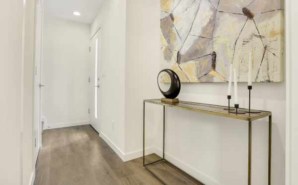 Entryway at 8364 14th Ave NW, One of the Thoren Townhomes