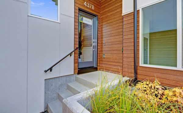 Front Door of 437B NE 73rd St