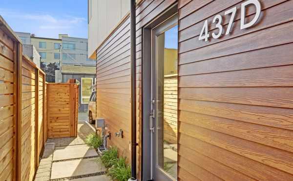 Front Door of 437D NE 73rd Street