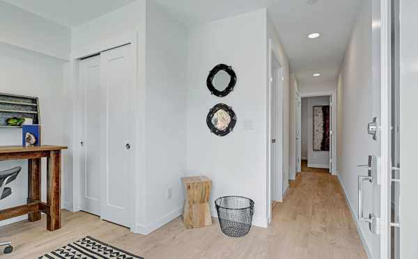 Hallway Leading from the Den on the First Floor of 3549 Wallingford Ave N