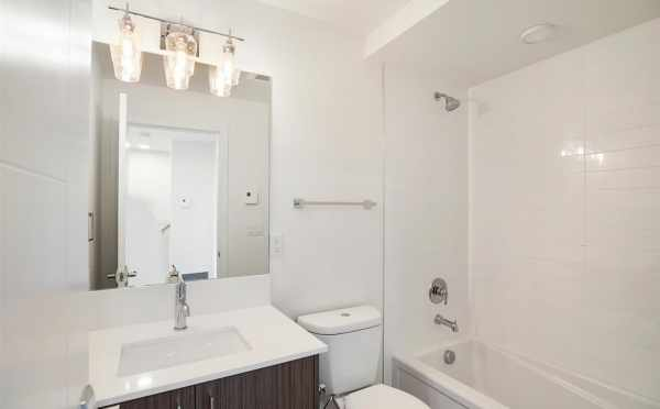 First Floor Bathroom at 5111B Ravenna Ave NE