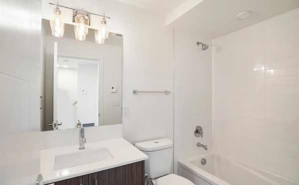 First Floor Bathroom at 5111B Ravenna Ave NE