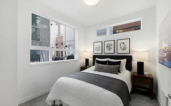 First Bedroom of 7528A 15th Ave NW, Townhome in Talta Ballard
