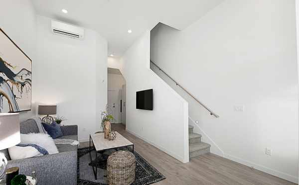 Stairs in the First Floor Room in 7530B 15th Ave NW, Live-Work Unit in Talta Ballard