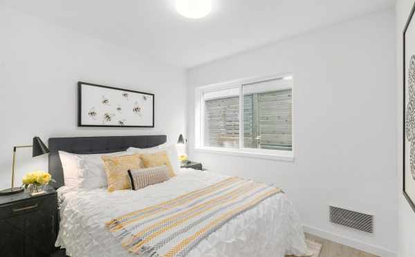 Second Bedroom at 2430 Boyer Ave E, One of the Baymont Townhomes by Isola Homes