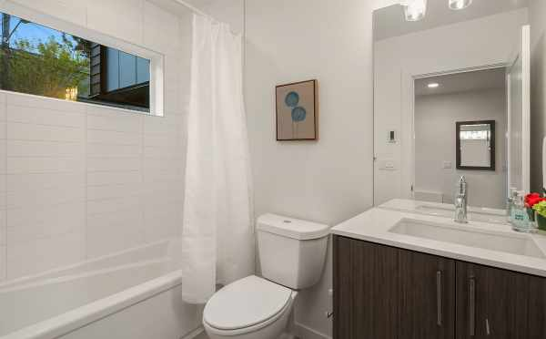 First Floor Bathroom at 2506 Everett Ave E in the Baymont Townhomes